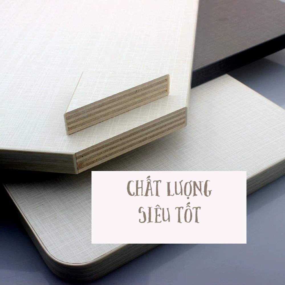 Trọn Bộ Mặt Bàn Học Gấp Bằng Gỗ Để Laptop 40x60 cm Kèm Bộ Giá Đỡ Ke Gập Thép Không Gỉ 35 cm Gắn Treo Tường Xếp Gọn Thông Minh Tiết Kiệm Không Gian Mai Lee