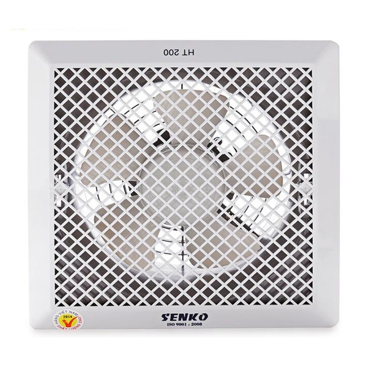 Quạt hút thông gió âm trần 1 chiều cao cấp Senko HT200 35W (Hàng Chính Hãng)