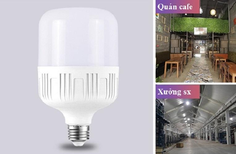 Bộ 10 bóng đèn led trụ 45w kín nước siêu sáng siêu bền