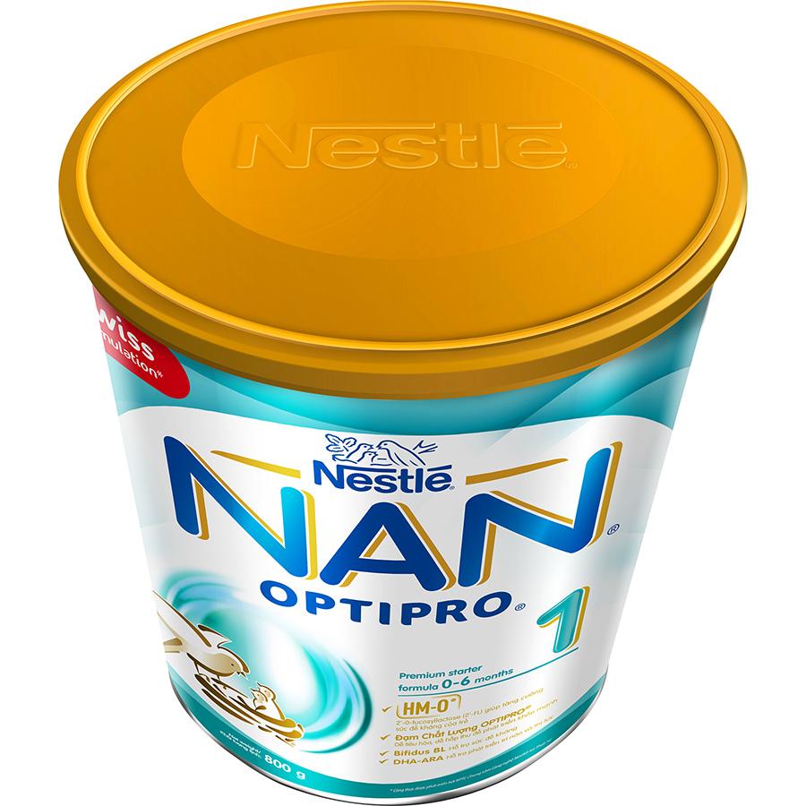 Hình ảnh Bộ 2 Sữa Bột Nestlé Nan Optipro 1 Lon 800G (Công Thức Bổ Sung HM-O)