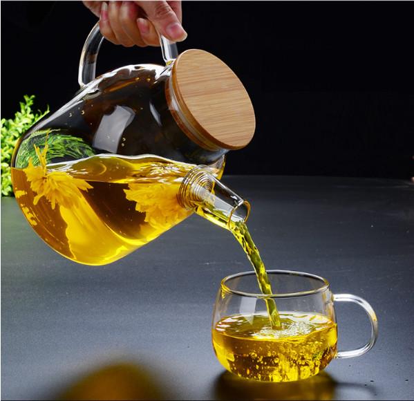 Ấm pha trà thủy tinh Zeno ATT25 - 1,6L