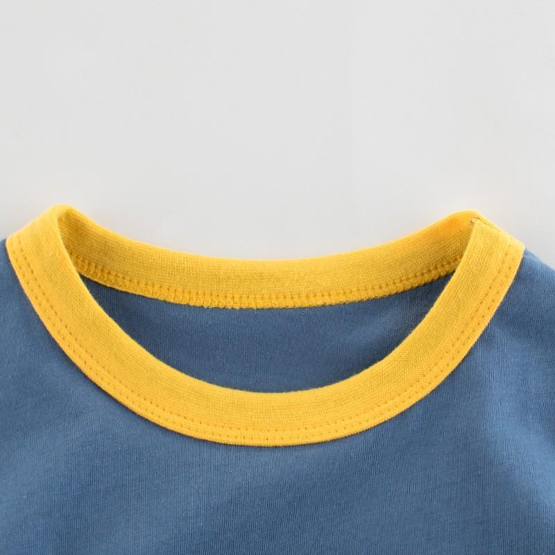 Áo bé trai 27kids, áo thun bé trai chất cotton 100%