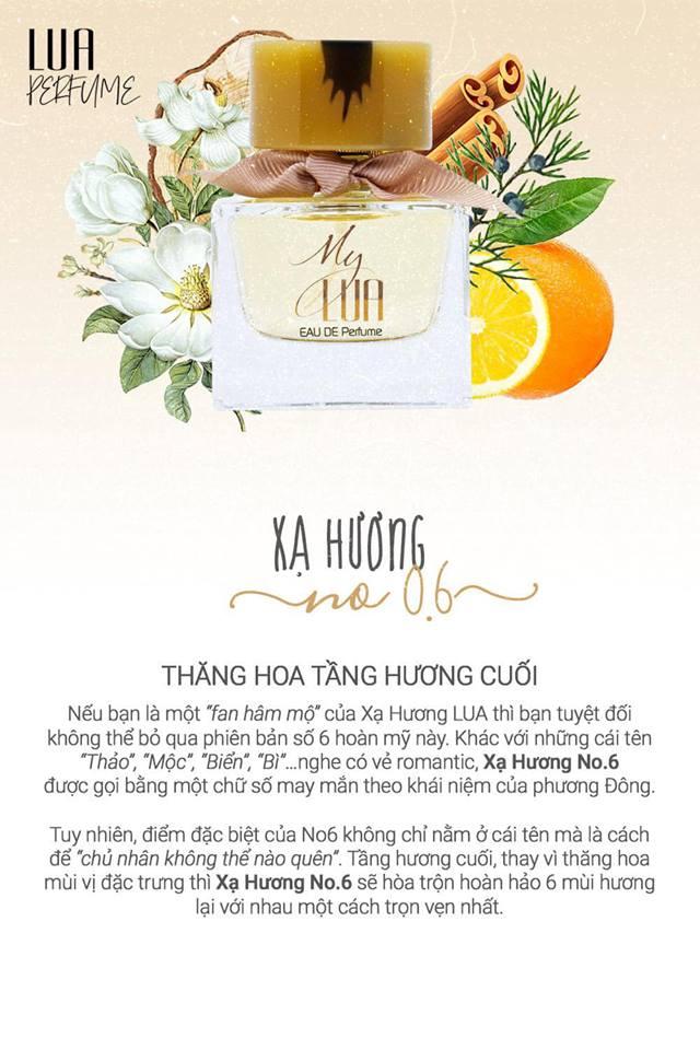 Nước hoa Xạ Hương No.6 - My LUA Eau De Perfume 35ml