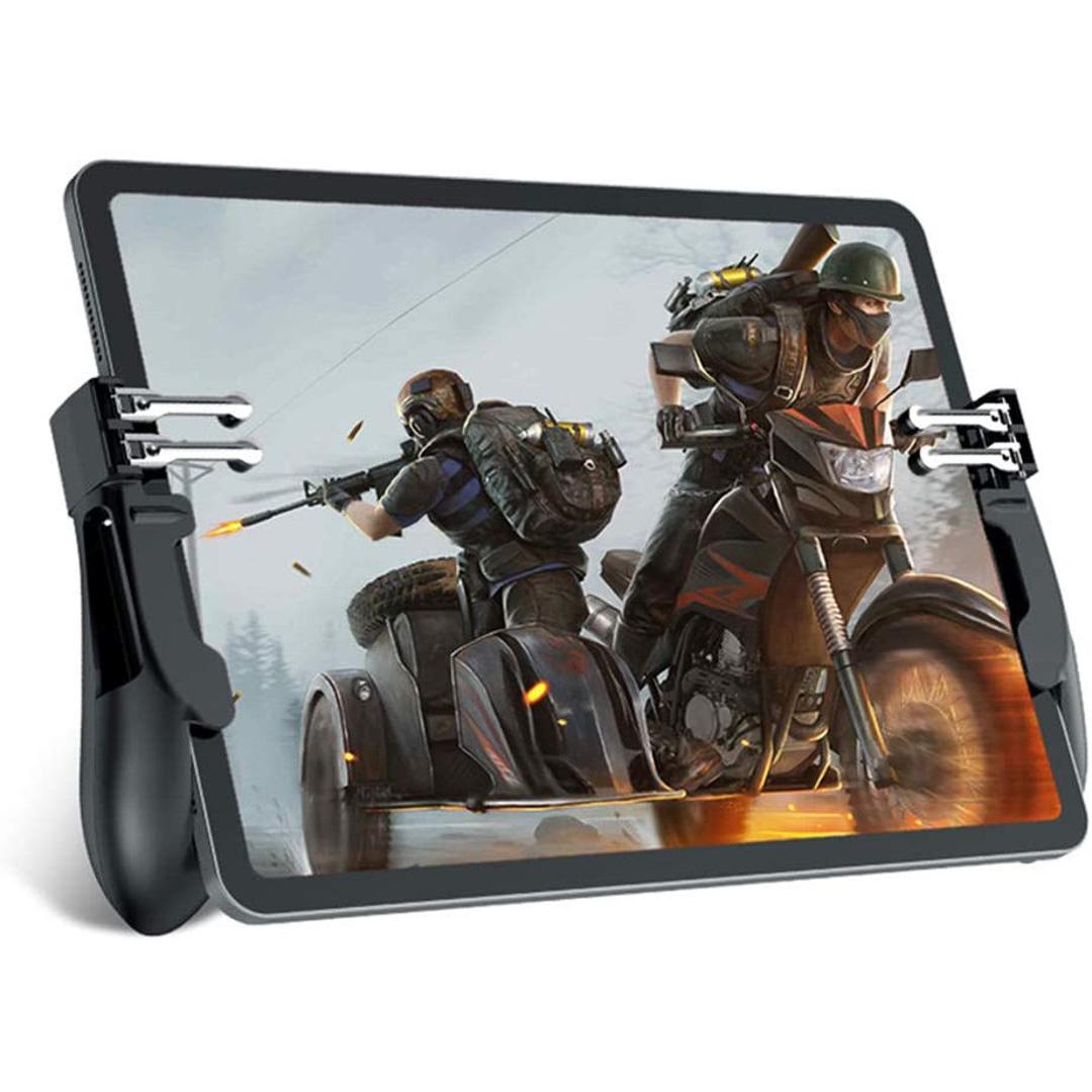 Tay cầm chơi game H11 cho ipad máy tính bảng tay cầm chơi game 6 ngón pubg ros liên quân