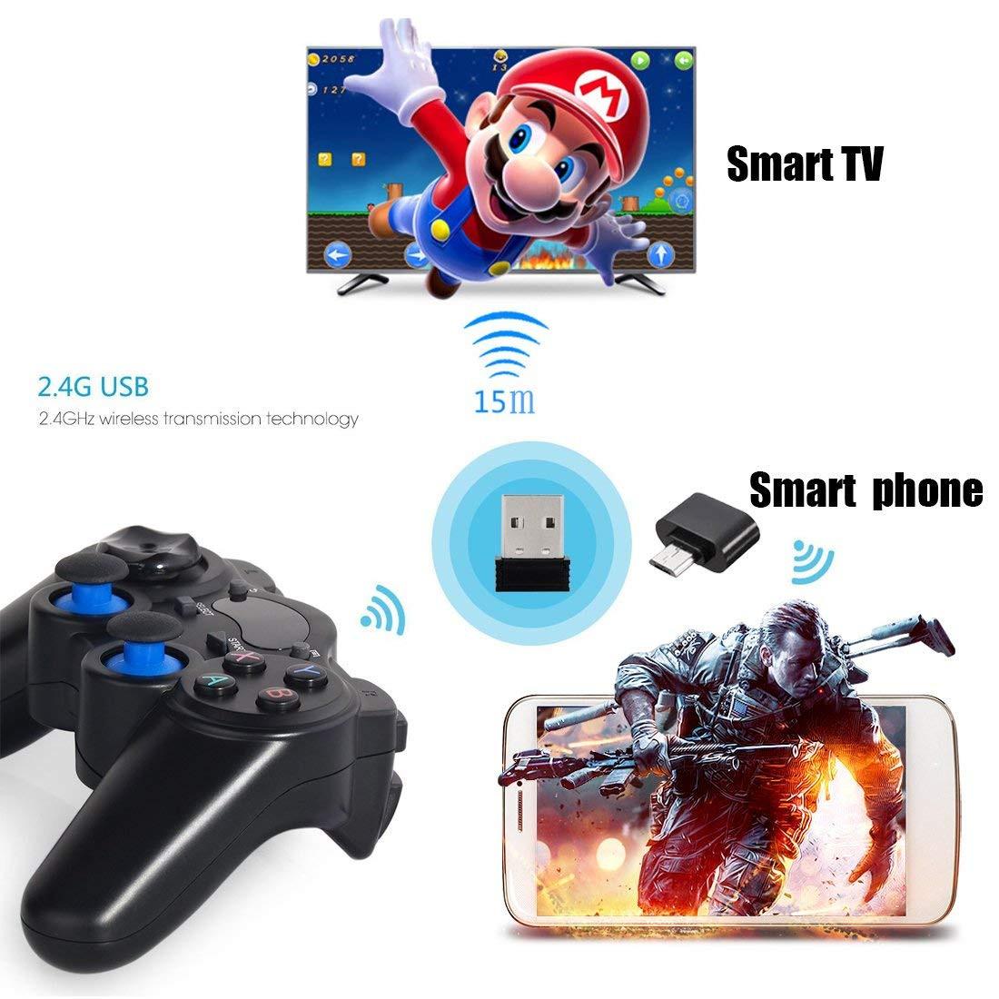 Tay Cầm Chơi Game Không Dây Cho PC / Xbox360 / Android TV / Smartphone/ Laptop 850M