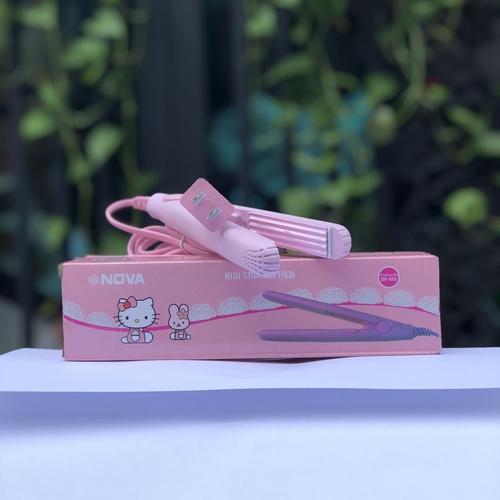 Máy bấm mini Nova hello kitty màu hồng