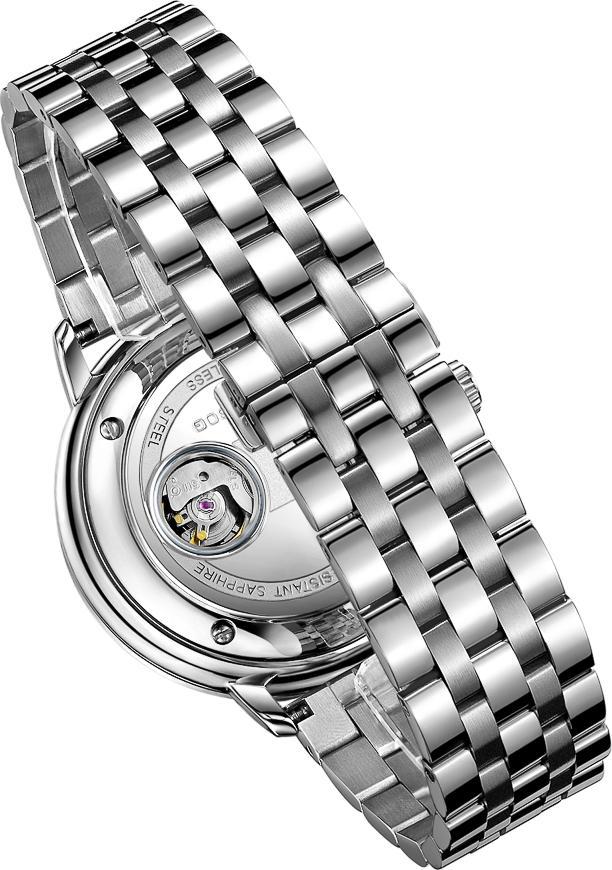 Đồng hồ nam máy cơ tự động chính hãng Thụy Sĩ  TOPHILL TW060G.S1158