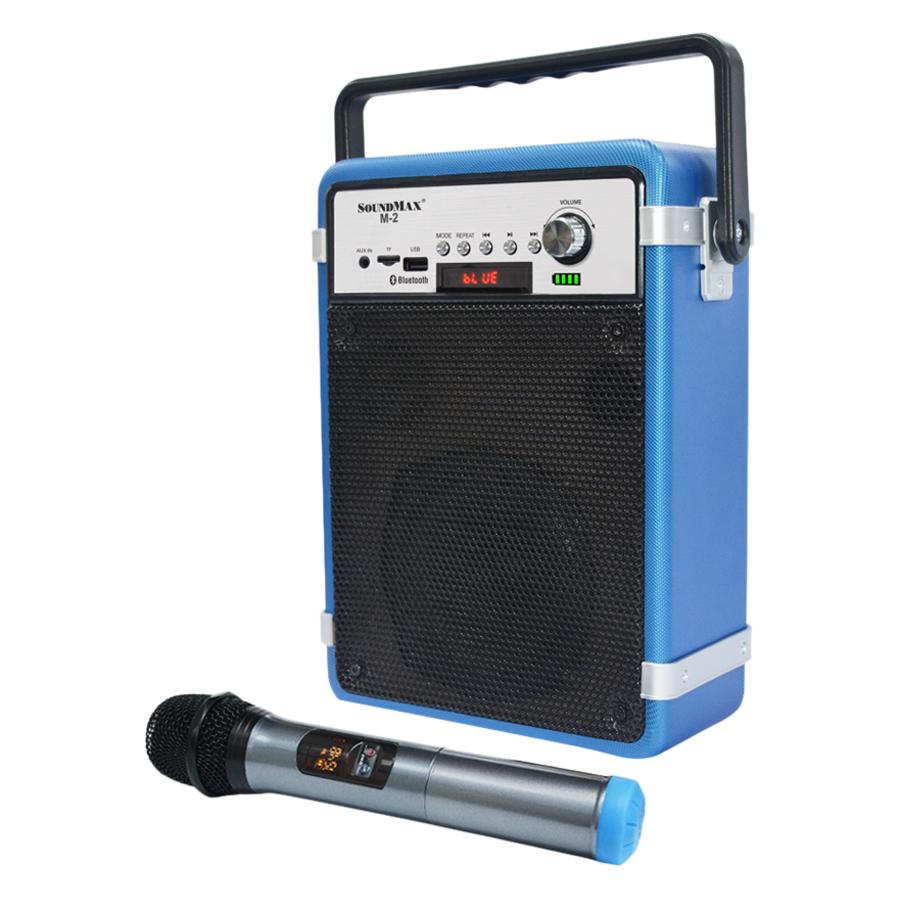 Loa Bluetooth Soundmax M-2 Kèm Micro (40W) - Hàng Chính Hãng