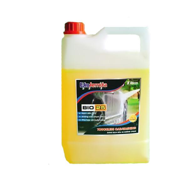 Nước Rửa Xe Không Chạm Ekokemika Bio 25 (5L) - Hàng Chính Hãng