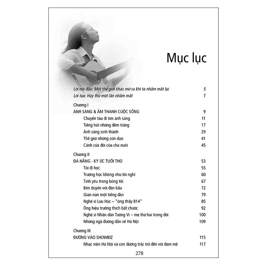 Nhắm Mắt Nhìn Sao - Tự Truyện Nhạc Sĩ Khiếm Thị Hà Chương