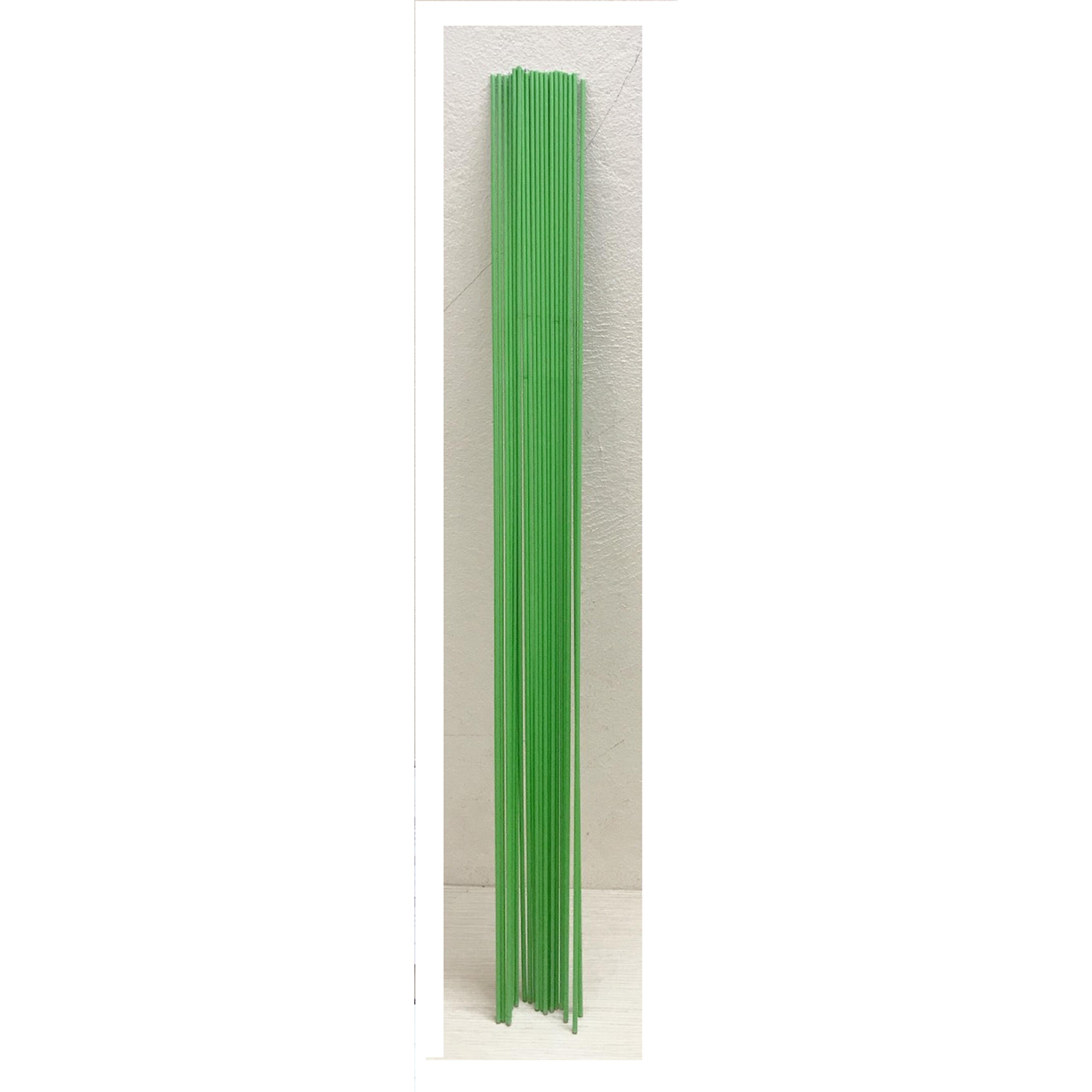 30 Que Thép Chống Lan Bọc Nhựa Màu Xanh Dài 80cm