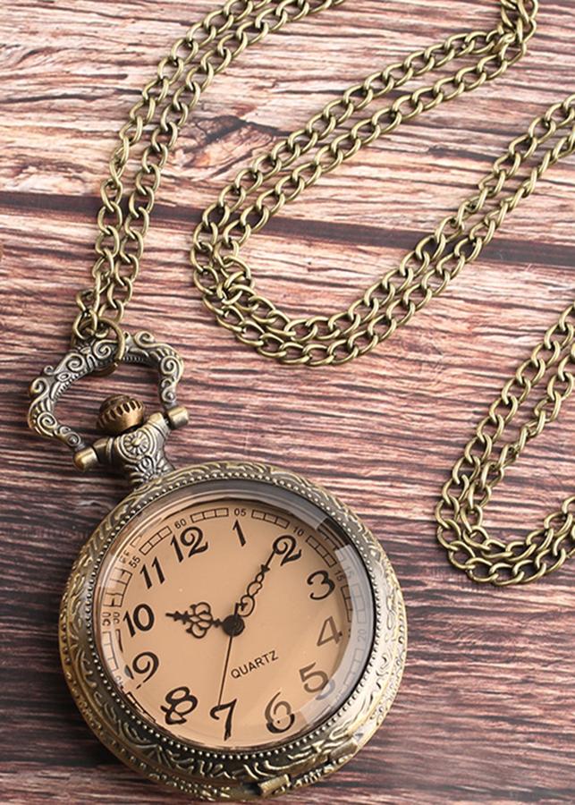 Đồng hồ đeo cổ bỏ túi giả cổ