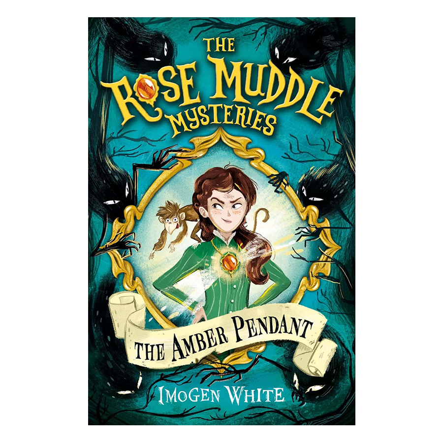Truyện đọc tiếng Anh - Usborne Middle Grade Fiction: The Rose Muddle Mysteries The Amber Pendant