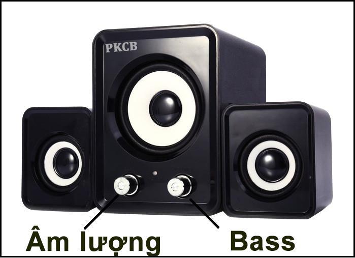 Loa vi tính nghe nhạc dùng cho điện thoại máy tính P6 - Hàng Chính Hãng