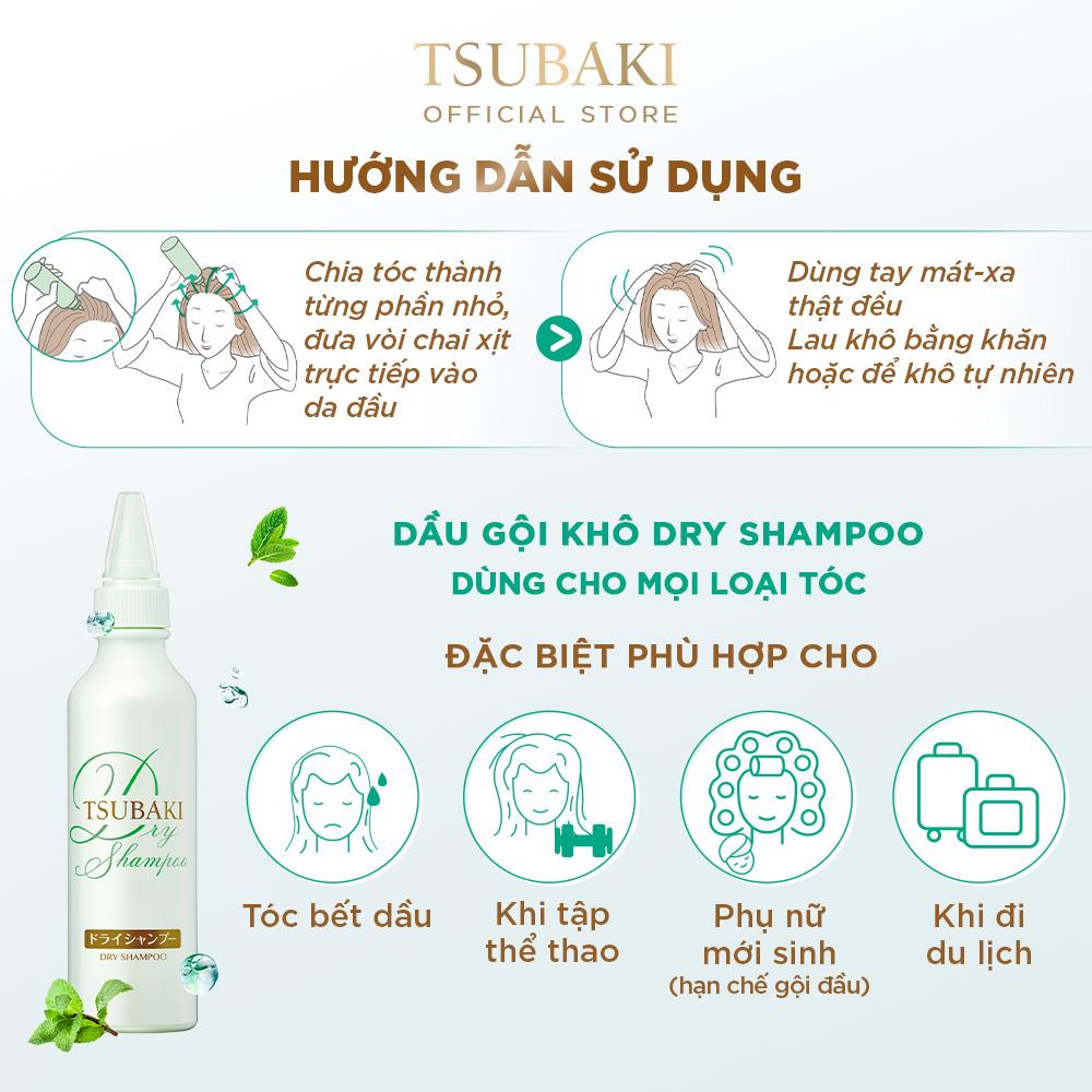 Bộ sản phẩm Tsubaki Premium dưỡng tóc bóng mượt hoàn hảo