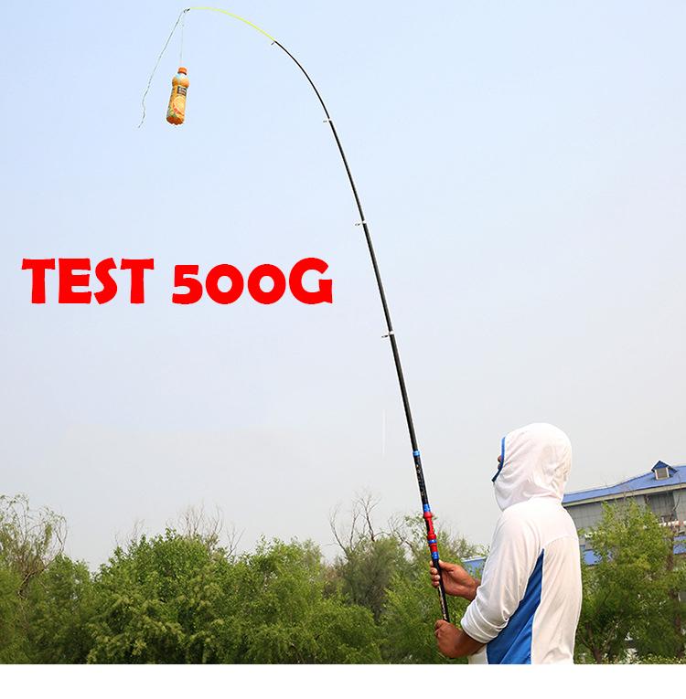 Cần câu cá - Chính hãng - Siêu bền Siêu bạo lực - Dài 2m7 - Tặng kèm cước 100m