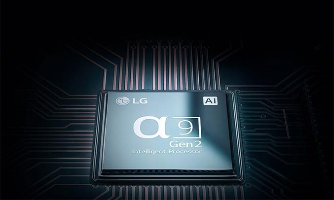 Tivi LED LG 65 inch OLED65C9PTA xử lý thông minh