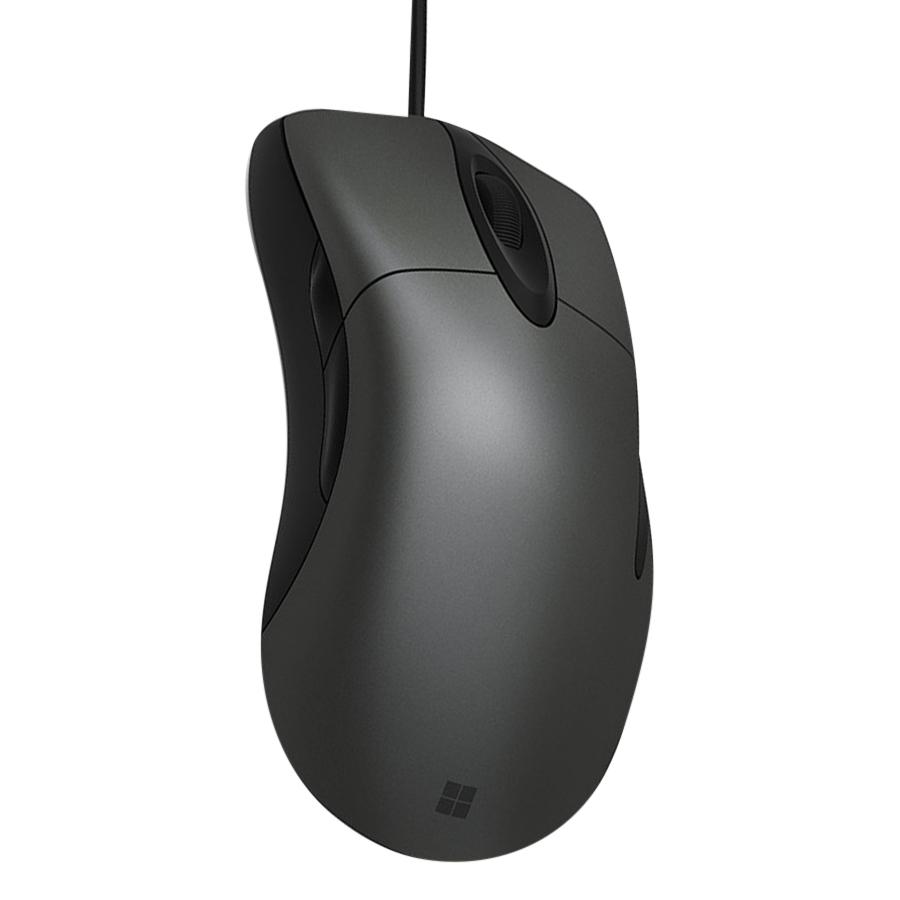 Chuột Chơi Game Có Dây Microsoft Classic IntelliMouse 3200DPI 5 Phím - Hàng Chính Hãng