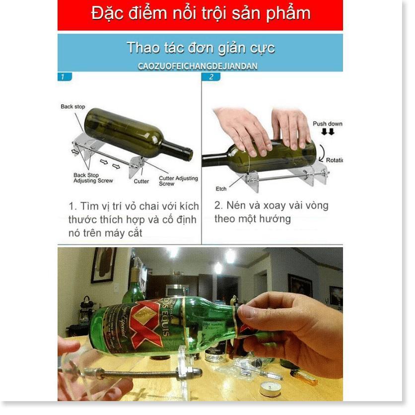 Máy cắt chai thủy tinh DIY