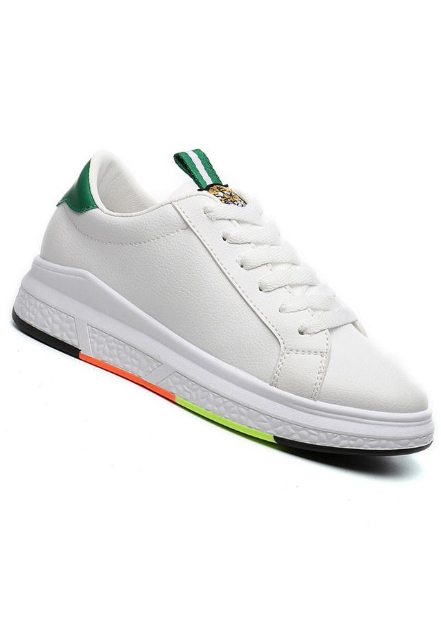 Giày nữ thời trang phối màu đa sắc 0514