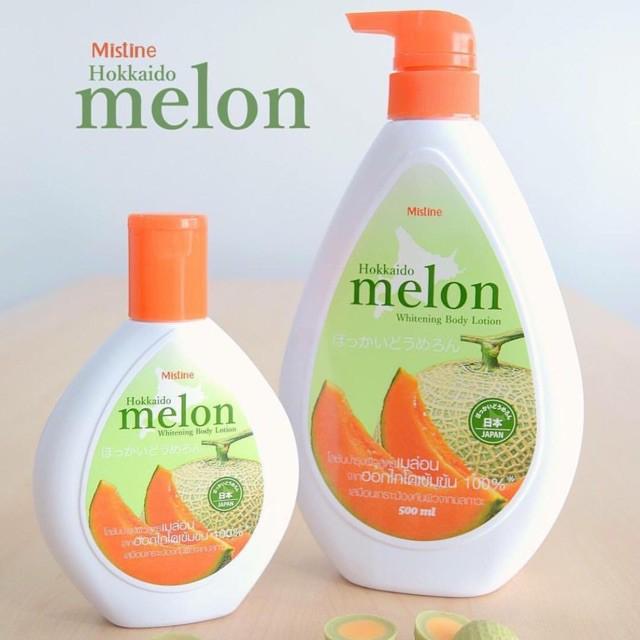 Kem dưỡng da toàn thân Hokaido Melon Lotion Thái Lan 200ml tặng móc khóa