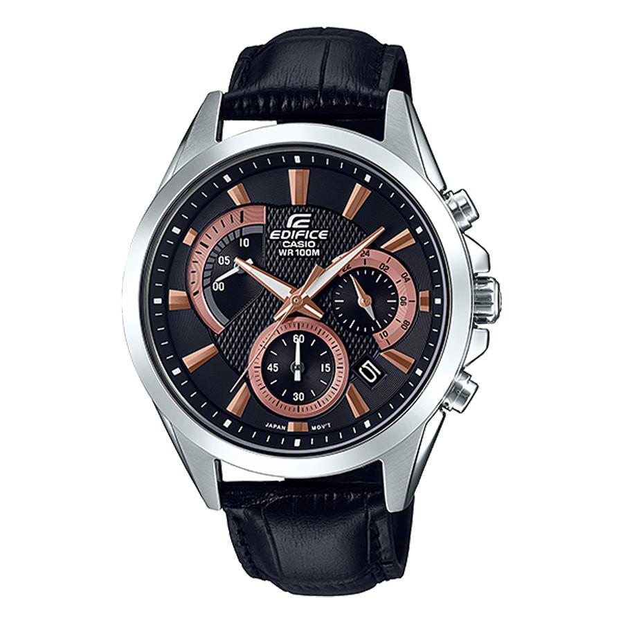 Đồng hồ nam dây da Casio Edifice chính hãng EFV-580L-1AVUDF