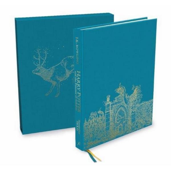 Harry Potter Part 3: Harry Potter And The Prisoner Of Azkaban (Hardback) Deluxe Illustrated Edition (Harry Potter và Tù nhân ngục Azkaban) (English Book)