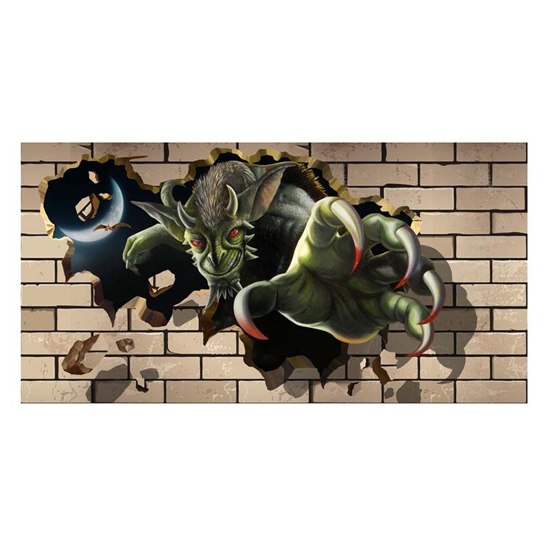 Tranh Dán Tường Hoạt Hình 3D 3DW067