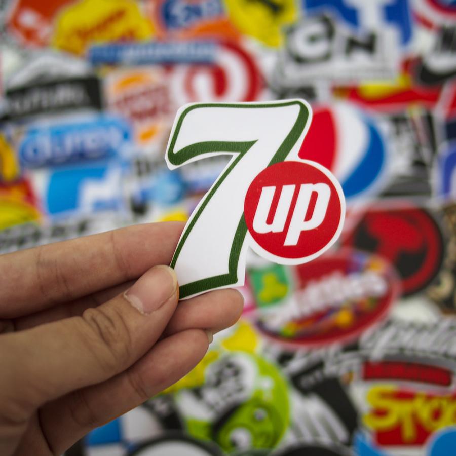 Set 100 Sticker - Logo