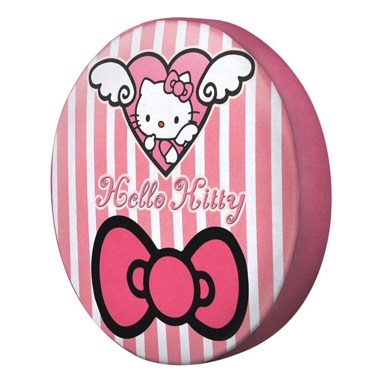 Gối Ôm Tròn Hello Kitty Và Trái Tim GOCT011