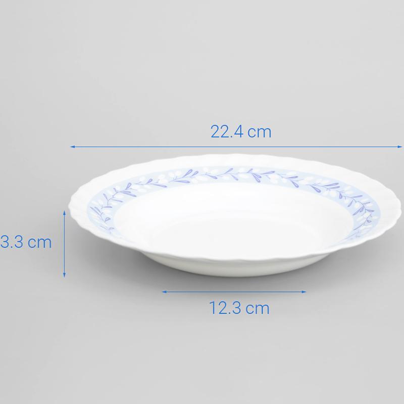 Đĩa Thuỷ Tinh Luminarc Trianon La Brise 23cm - N3390