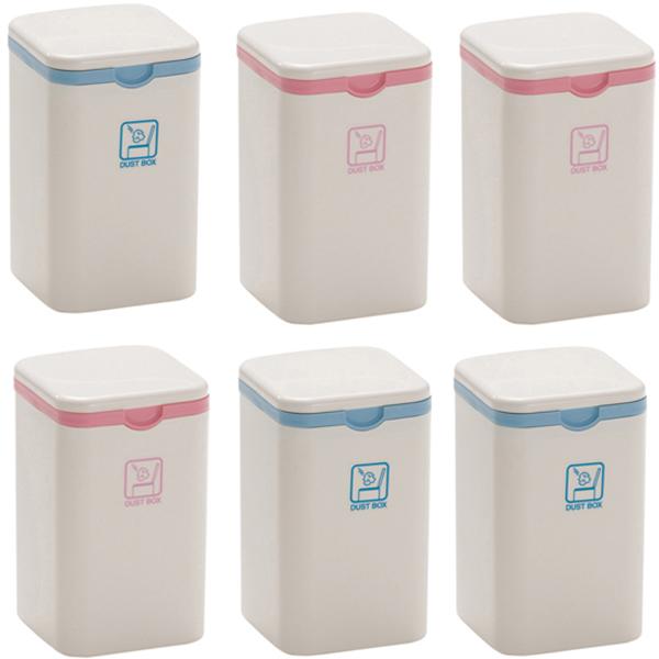 Combo Thùng đựng rác mini nội địa Nhật Bản - màu ngẫu nhiên - 6 cái - 24121658 , 6602890228973 , 62_7981954 , 567672 , Combo-Thung-dung-rac-mini-noi-dia-Nhat-Ban-mau-ngau-nhien-6-cai-62_7981954 , tiki.vn , Combo Thùng đựng rác mini nội địa Nhật Bản - màu ngẫu nhiên - 6 cái