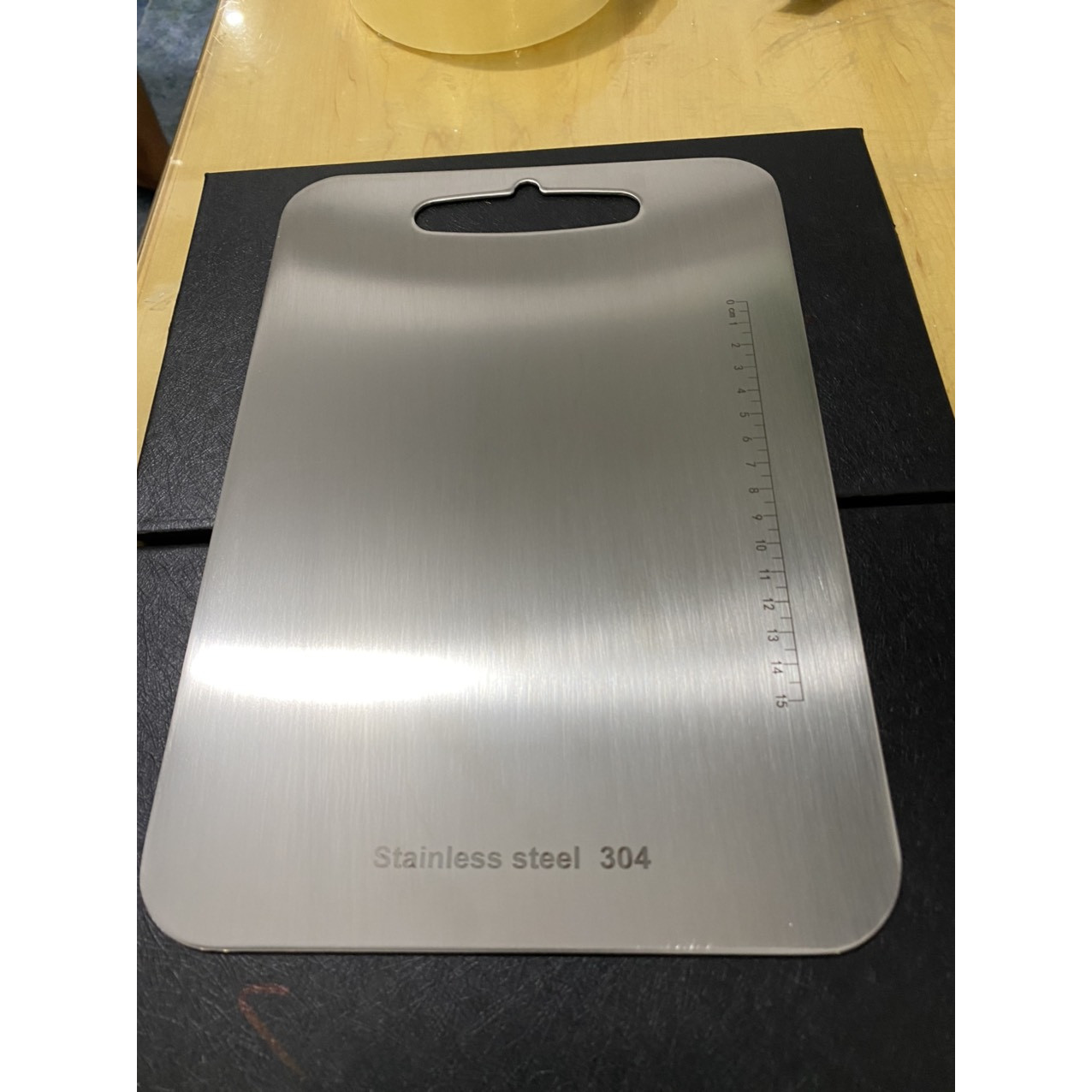 Thớt Inox 304 hình chữ nhật 39cm x 28cm