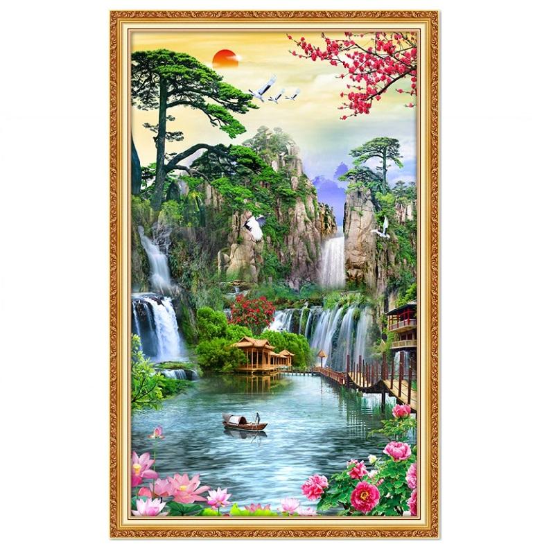 Tranh dán tường cảnh đẹp thiên nhiên NewTM-0112K