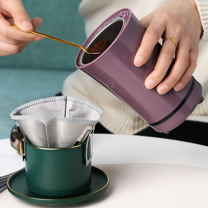 Máy xay cafe mini cầm tay siêu nhanh