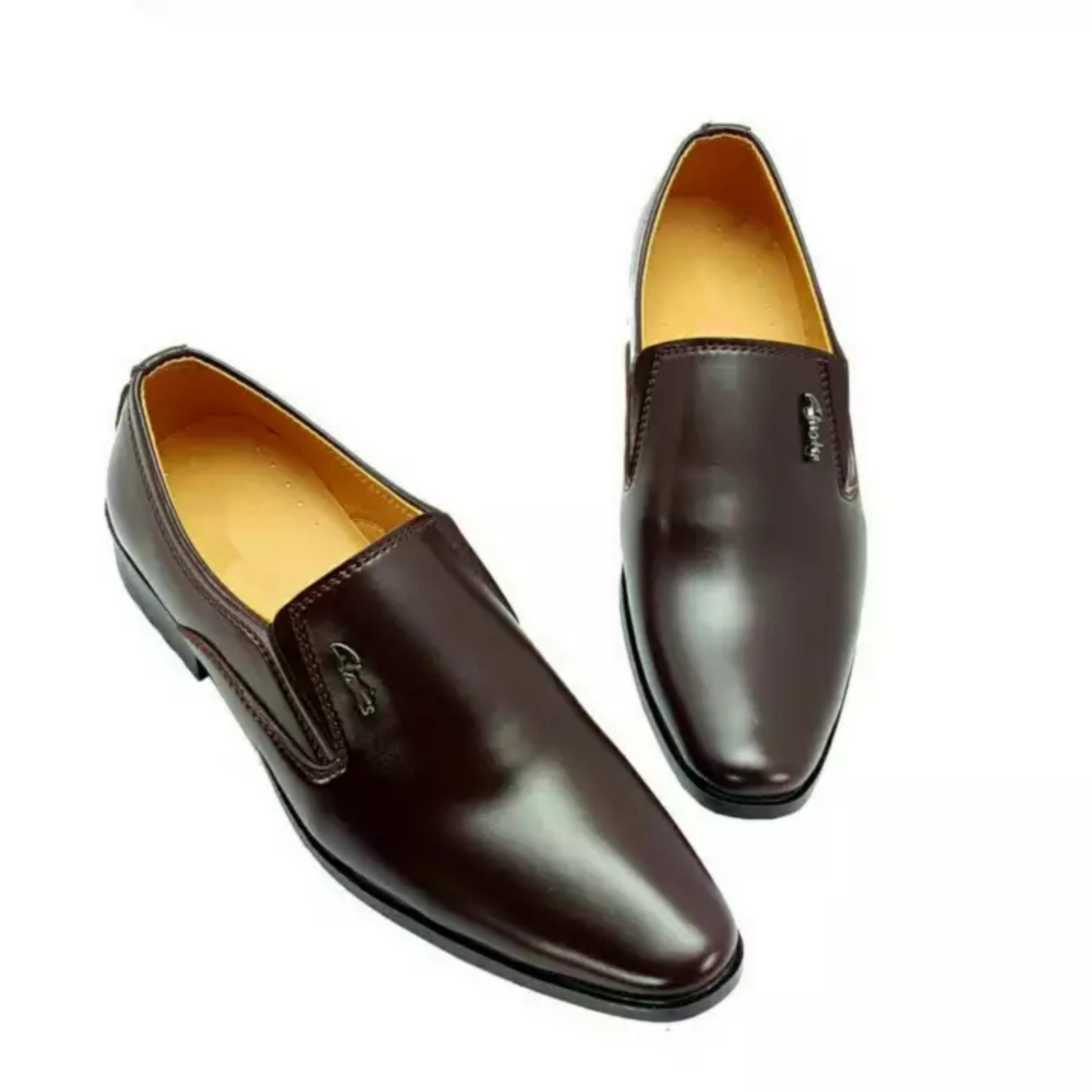 Giày Tây Nam Công Sở Da Mềm, Đế Khâu, Cao 3.5cm Lê Sang - 40 Nâu
