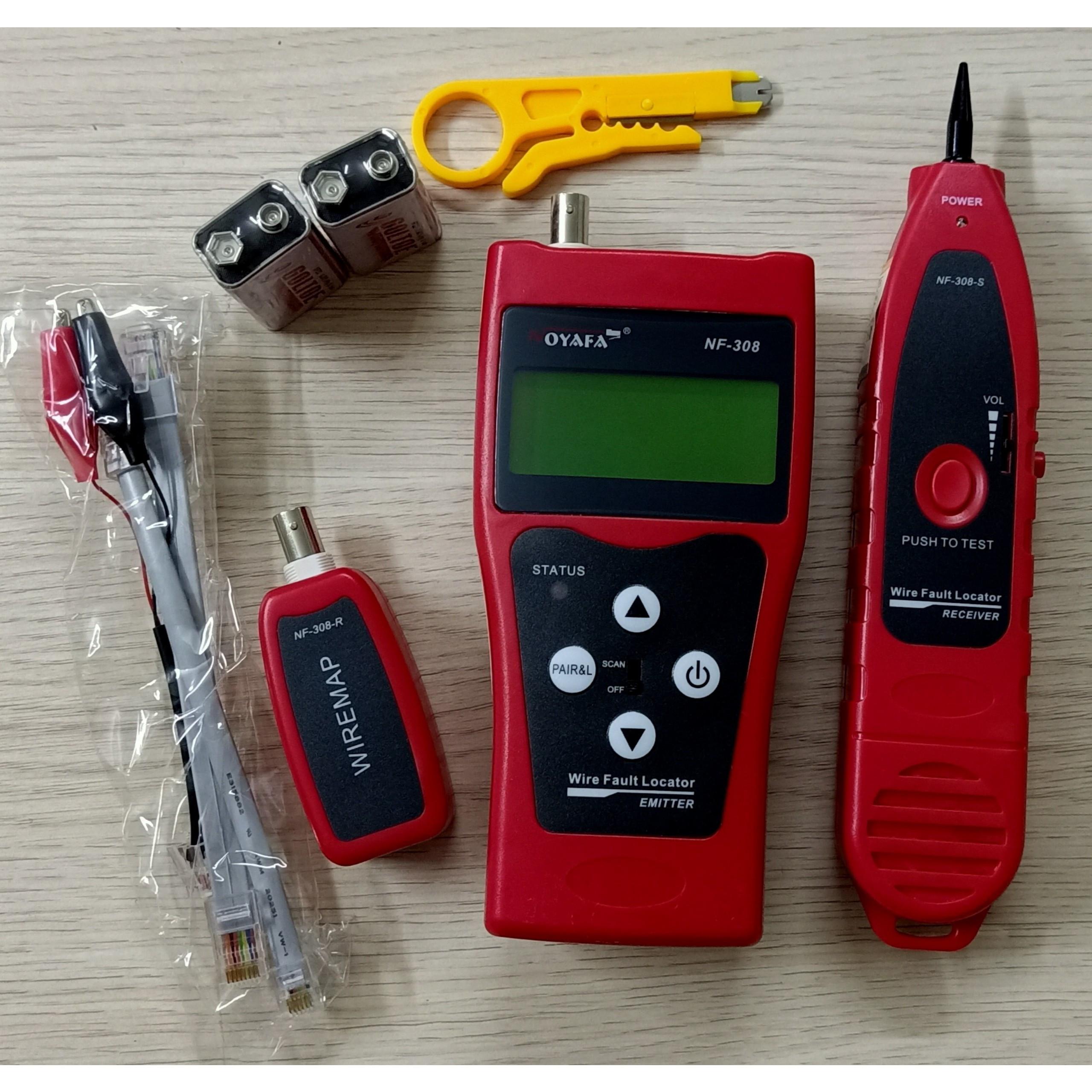 Máy test cáp mạng đa năng NF-308 Noyafa - Hàng nhập khẩu