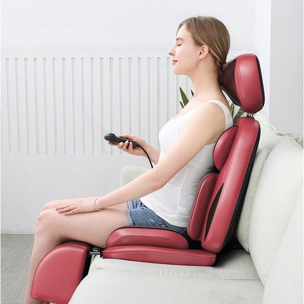 Ghế Massage thư giãn trị liệu hồng ngoại có xoa bóp chân cao cấp