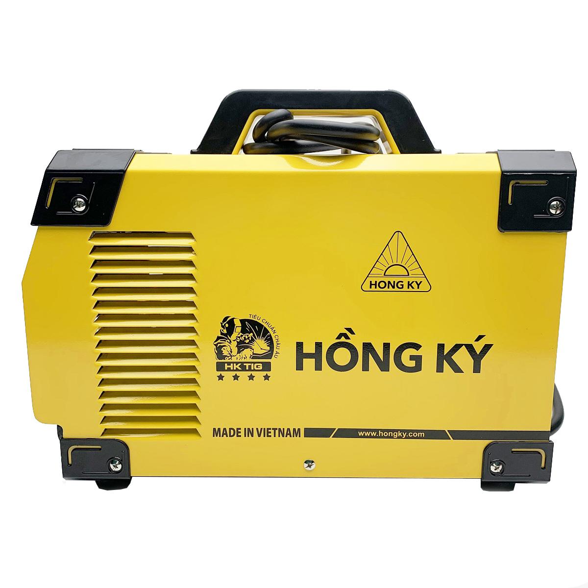 Máy hàn điện tử Hồng Ký HK TIG200A - Hàn INOX chuyên dụng, 2 chức năng hàn que (1.6-3.2mm) và hàn khí Argon (Tig)