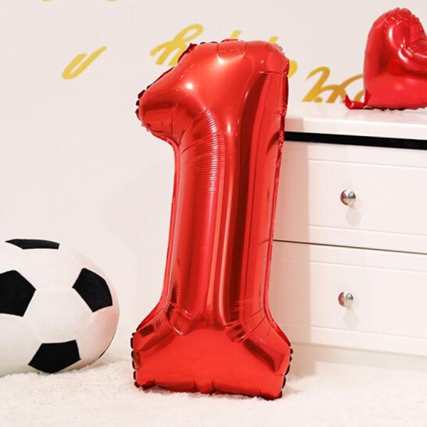 Bóng bóng kiếng số trang trí tiệc, sinh nhật, ngày lễ