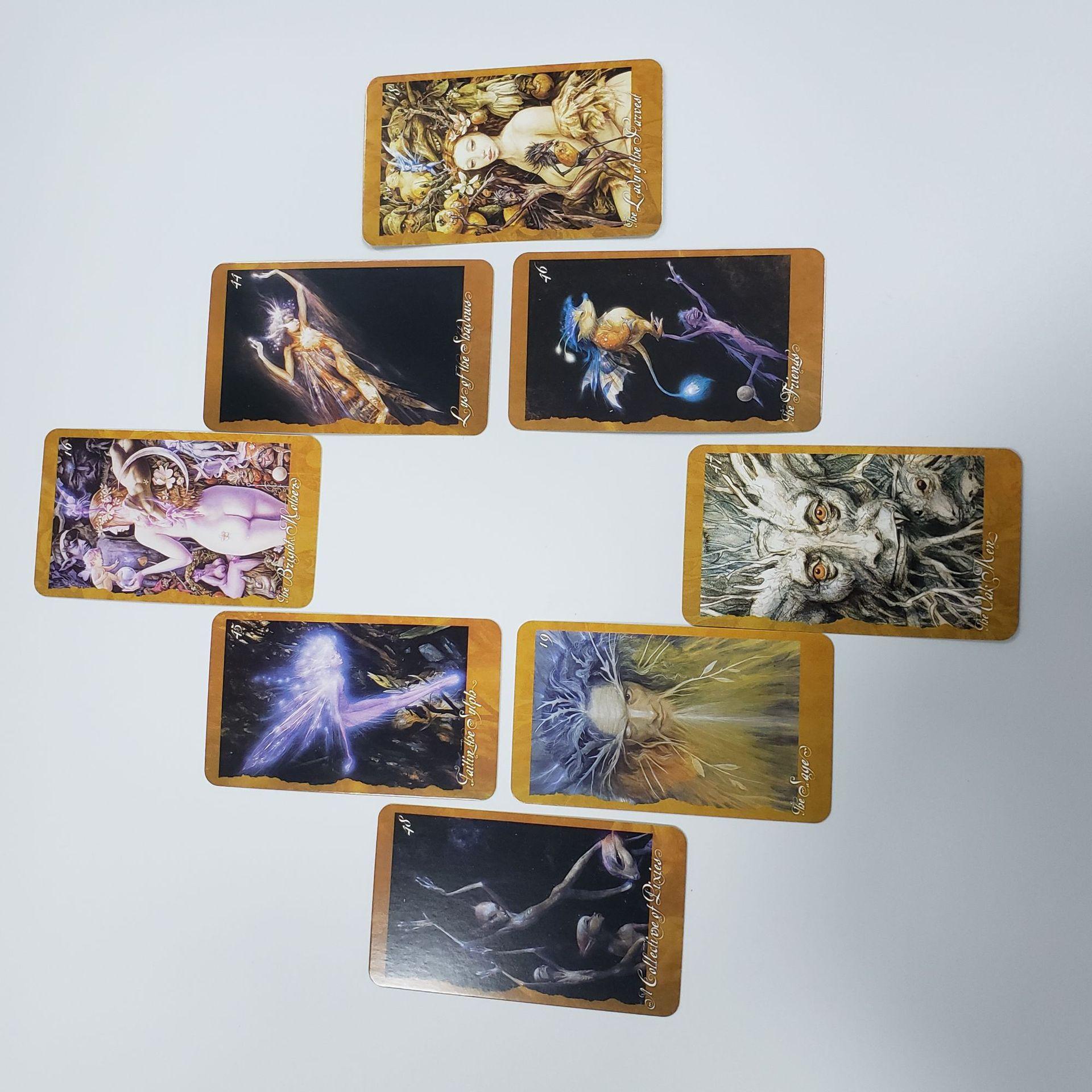 Bộ Bài Bói Tarot The Faeries Oracle Deck Cao Cấp Đẹp