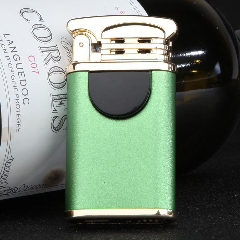 Hộp Qụet Bật Lửa Sạc Điện Cổng USB 2 Tia Lửa Plasma Đan Chéo ZB170C, Kiểu Dáng Sang Trọng Lịch Lãm (Giao Màu Ngẫu Nhiên)