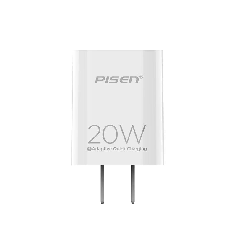 Củ sạc PISEN Quick PD 20W - Hàng Chính Hãng