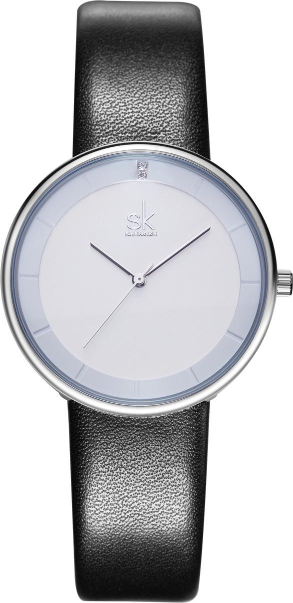 Đồng hồ nữ chính hãng Shengke K8062L-01 Đen