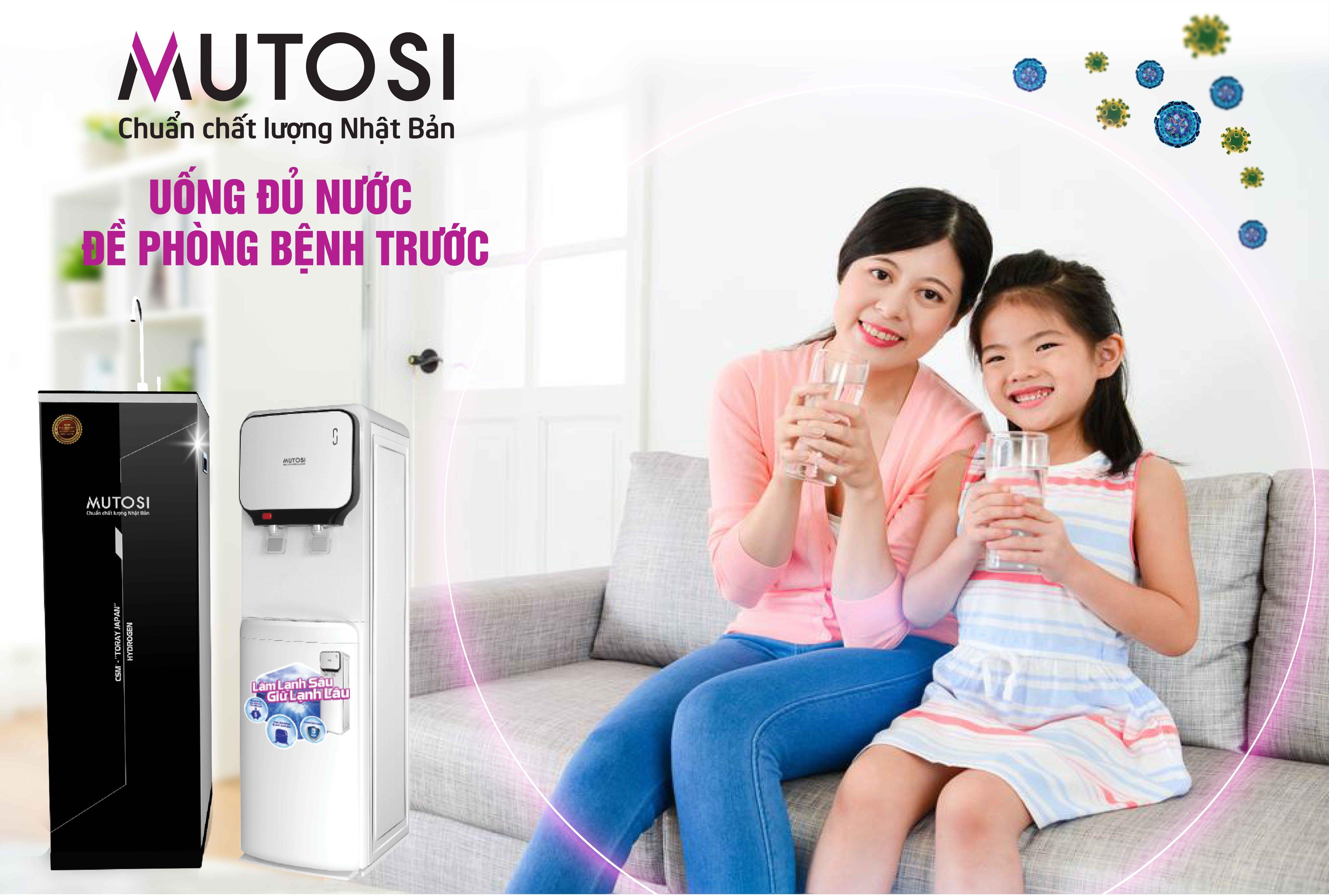Lỗi đúc số 2 - OCB-GAC - Máy lọc nước RO - Hàng chính hãng Mutosi