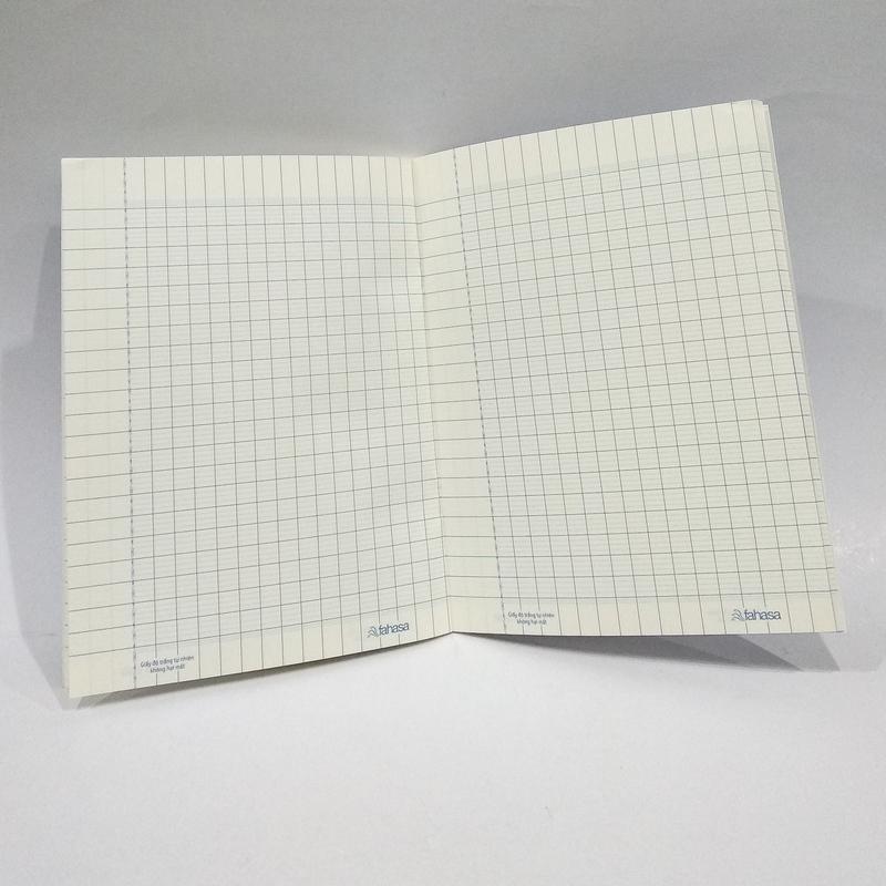 Tập 100 Trang ĐL80 (Giấy Độ Trắng Không Hại Mắt) - Kẻ Thường - Màu Xanh