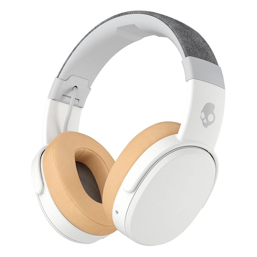 Tai Nghe Chụp Tai Skullcandy Crusher Bluetooth Wireless Over-Ear Headphone Trắng - Hàng Chính Hãng