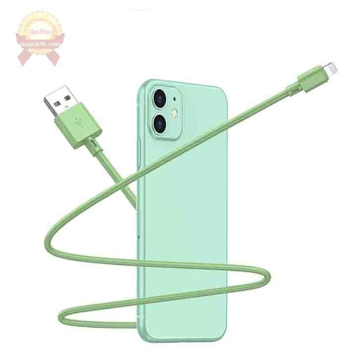 Dây cáp uốn dẻo sạc nhanh QC 3.0 silicon Type C Lightning USB dài 1m 3m cho điện thoại
