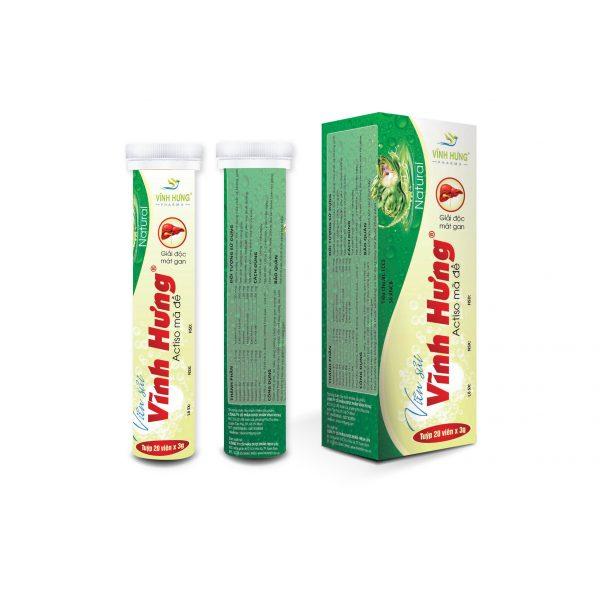 Viên sủi Vĩnh Hưng – Bổ sung Vitamin, khoáng chất hỗ trợ bồi bổ sức khỏe