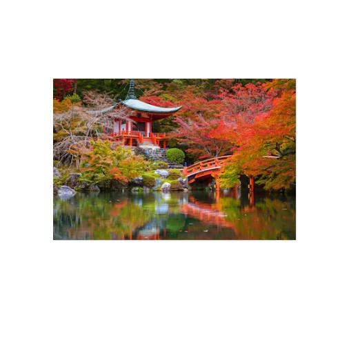 Tranh dán tường cửa sổ 3D  Tranh trang trí 3D  Tranh đẹp  T3DMN 153 - 100x150 cm